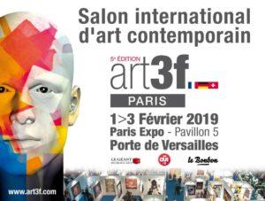 art3f Paris les éditions Parisiennes sont souvent ponctuées par de belles rencontres et de la réussite.